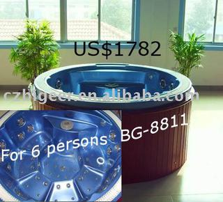 For 6 persons Spa bathtub(BG-8811)