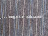 LINEN FABRIC/YARN DYED BLENDED FABRIC
