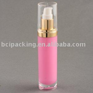 15ml oval acrylic bottle