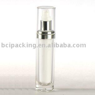 15ml oval acrylic lotion bottle