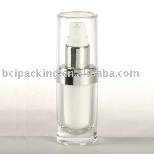 15ml oval plastic lotion bottle