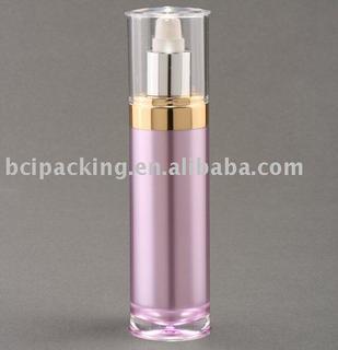120ml hat shape acrylic cosmetic bottle