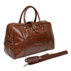 Hot Selling New Fashion  Travel Handbag PU Leather Weekend Bag