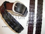 Braiding Studs Belt (40-10012A&B&C)