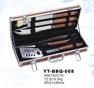 5 Pcs Deluxe Bbq Tool Set (YT-BBQ-008)