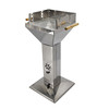 Stainless Steel Pillar Outdoor Garden Patio Cooker Grill