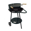 "Garden Portable Charcoal Grill 18"" Trolley Patio Cooking"