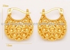 Gold Plating Earrings Jewelry