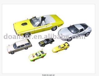 Scale die cast car