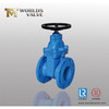non-rising stem Cast iron Resilient seated flanged gate valve