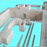 Zirconium refractory