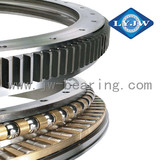 Separate section rotation slewing bearing