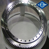 Single-row ball slewing ring bearing for small turntable bearing and overhead crane