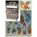 Eight nozzle orange juice in pouch filling and packaging machine