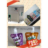 High quality fruit juice and lemon juice in stand up pouch with spout filling capping machine