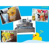 Factory 2000-2500bags/hour juice milk yogurt filling capping packing machine a