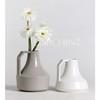 Modern design ceramic flower vases, white ceramic vase