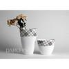 Wholesale flower vase, ceramic porcelain flower vase, fancy flower vases