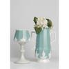 European style good quality light blue ceramic vases, flower vases, porcelain vaes