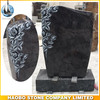Haobo Stone Granite Bahama Blue Headstone with and base Monument