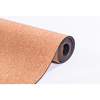 cork yoga mat (natural cork + natural rubber)