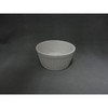 "3.3"" Ceramic Round Remekin,Remekin Fluted White,Souffle Dish"