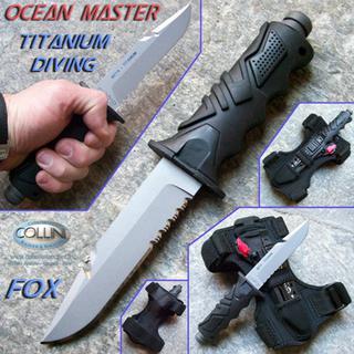 Titanium Dive Knife