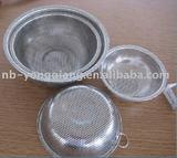 stainless colanders