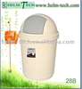 plastic recycle round dustbin