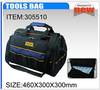 Tools bag with plastic tray