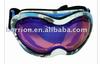PU ski goggles with warterdye