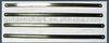 Double edges hacksaw blade