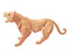 3D wooden tigers