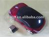 2.4G wireless car shape mouse
