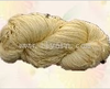 Metallic combed cotton yarn