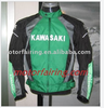 Man racing jacket