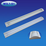 T8 sinlge or double LED tube light fixture dust proof 2-5ft