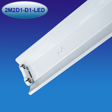 2ft double T8LED tub light fixture LED tube batten with reflector