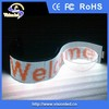 China factory wholesale indoor full color P7.62 Flexible LED Sign