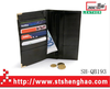 Wallet with finely processed