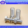 Aluminium bolt and nut ,Aluminium CNC bolts
