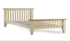 white pine bed,