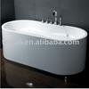 Complete freestanding bathtub