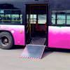 MWR-2S Manual sliding wheelchair ramp for bus