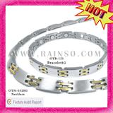 2012 Fashion Amazing Hot Selling Men's Magnetic Titanium Necklace