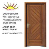 Exterior Steel wood armored door SC-A107
