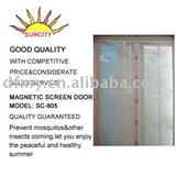 Mosquito preventing DIY magnetic door curtain sc-805