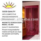 Diy jacquard magnetic screen door SC-803