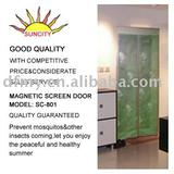 Diy jacquard item magic screen door SC-801