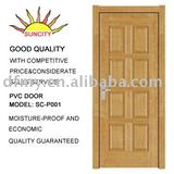 Interior T type PVC Door
